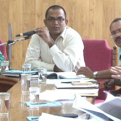 The pre-bid meeting for selection of project management consultant held